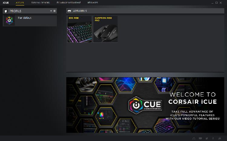 logiciel Corsair iSue